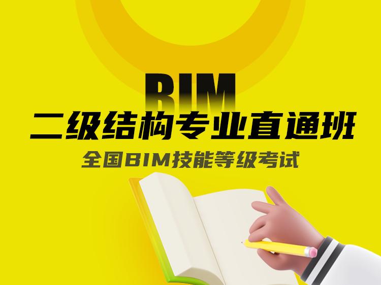 全国BIM技能等级考试二级结构专业直通班