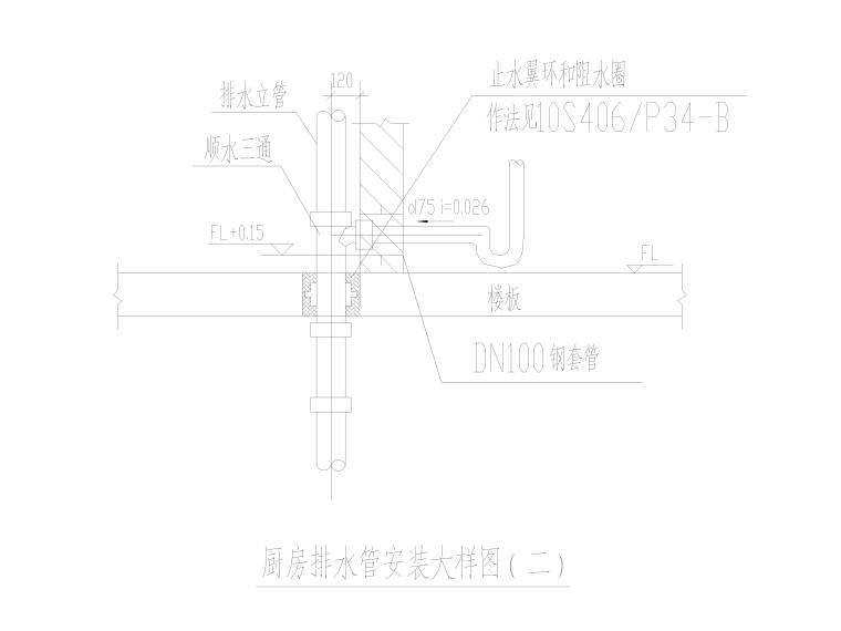[贵州]住宅商业配套项目给排水施工图2020_6