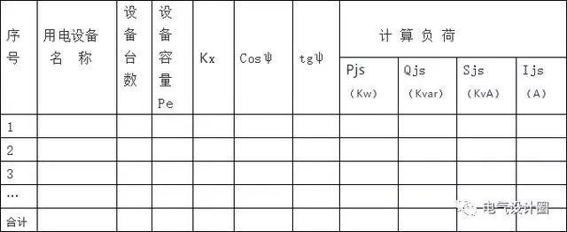 电气设计相关计算公式大全,一定要收藏哦!_5