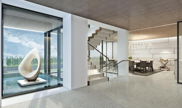 深圳六层半山私人豪宅效设计方案+灯光软装_2