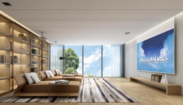 深圳六层半山私人豪宅效设计方案+灯光软装_5
