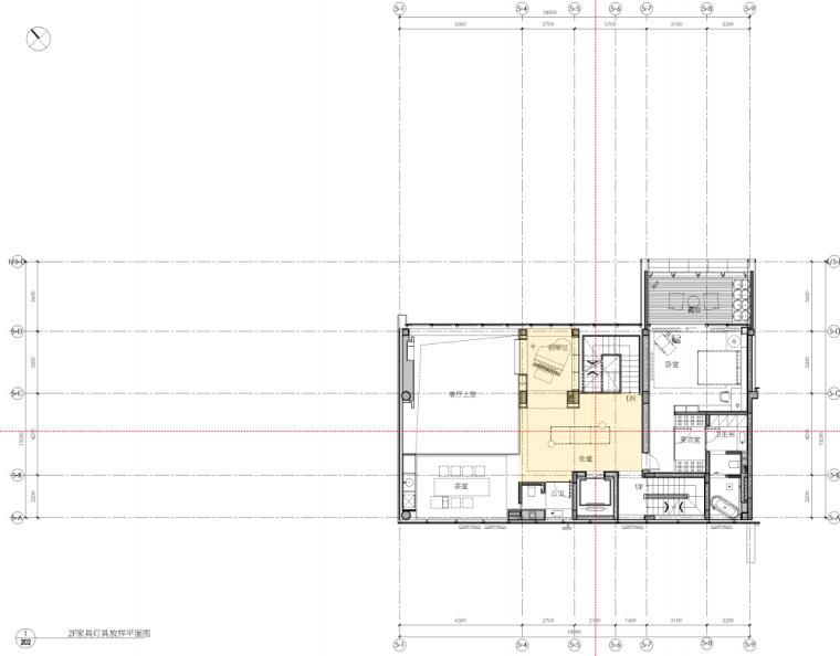 深圳六层半山私人豪宅效设计方案+灯光软装_15