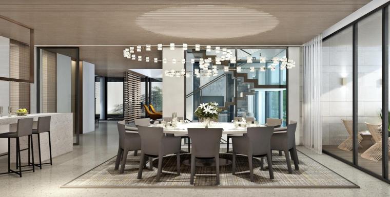 深圳六层半山私人豪宅效设计方案+灯光软装_7