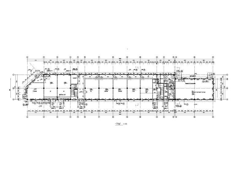 [江苏]三层配套商业建筑施工图CAD2020_2