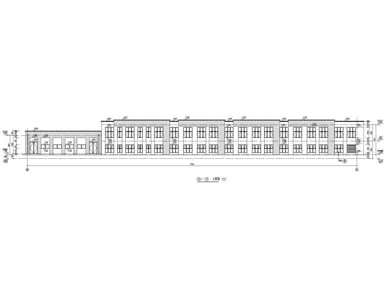 [江苏]三层配套商业建筑施工图CAD2020_6