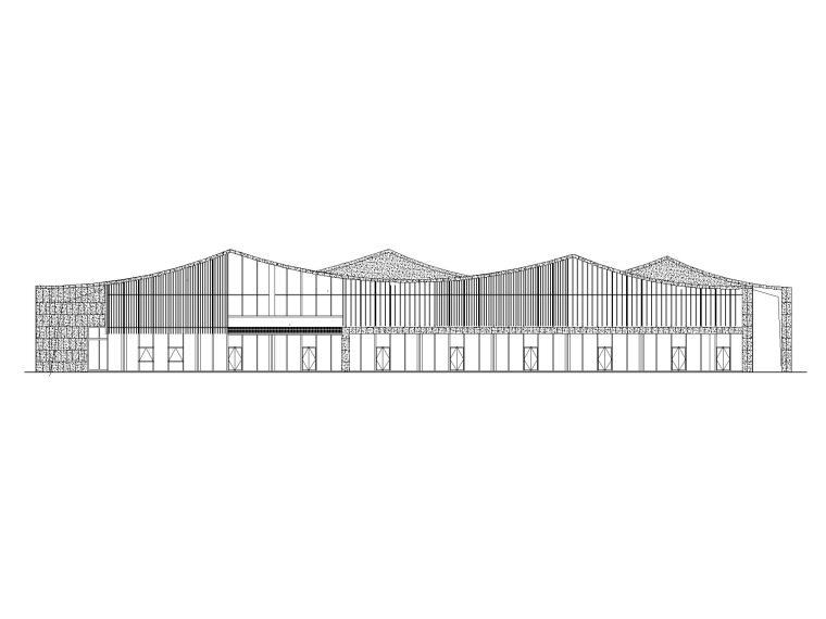 [江苏]坡屋顶三层配套商业施工图CAD2020_1