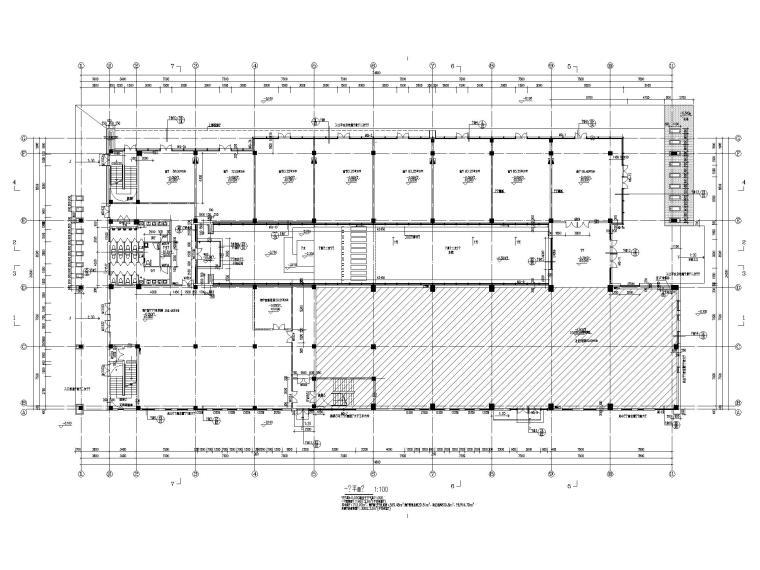 [江苏]坡屋顶三层配套商业施工图CAD2020_2
