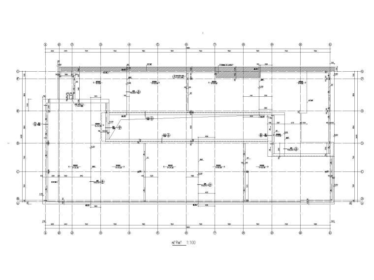 [江苏]坡屋顶三层配套商业施工图CAD2020_5