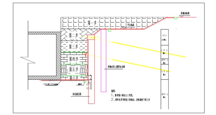 [中铁]深基坑开挖与支护工程专项施工方案-(中国中铁)深基坑支护工程专项施工方案_4
