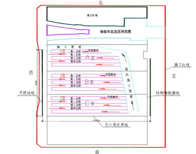 [中铁]深基坑开挖与支护工程专项施工方案-(中国中铁)深基坑支护工程专项施工方案_3