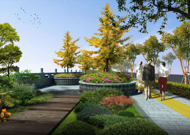 公园园林景观设计案例效果图_1