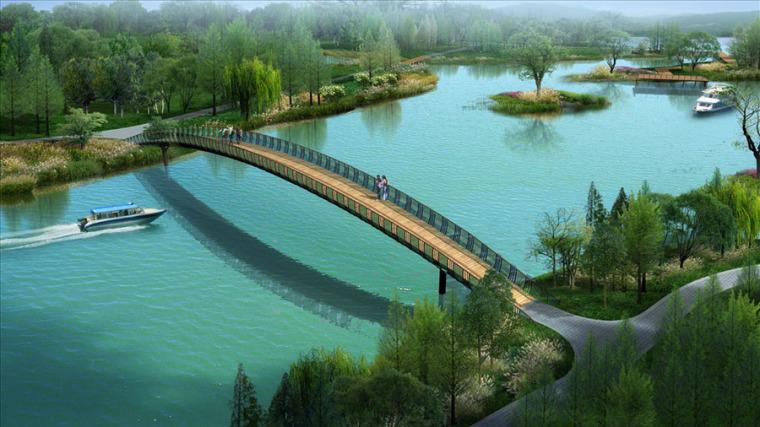 公园园林景观设计案例效果图_8