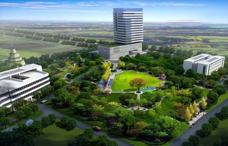 公园园林景观设计案例效果图_10