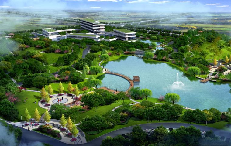 公园园林景观设计案例效果图_9