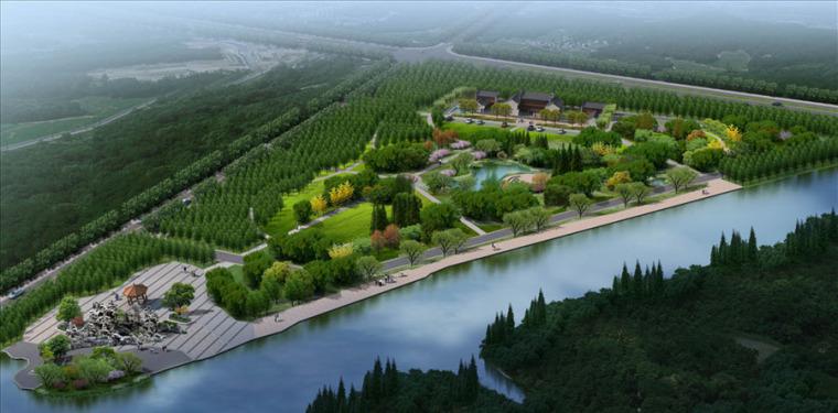 公园园林景观设计案例效果图_7