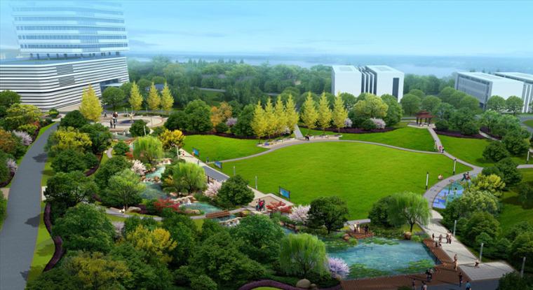 公园园林景观设计案例效果图_11