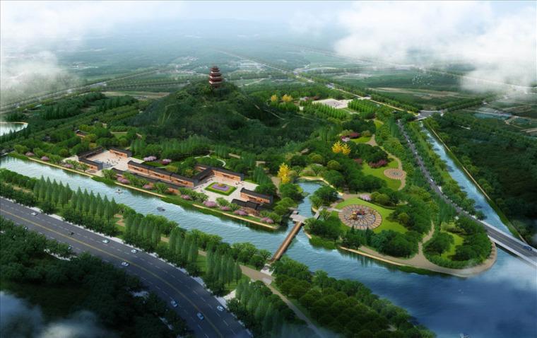 公园园林景观设计案例效果图_6