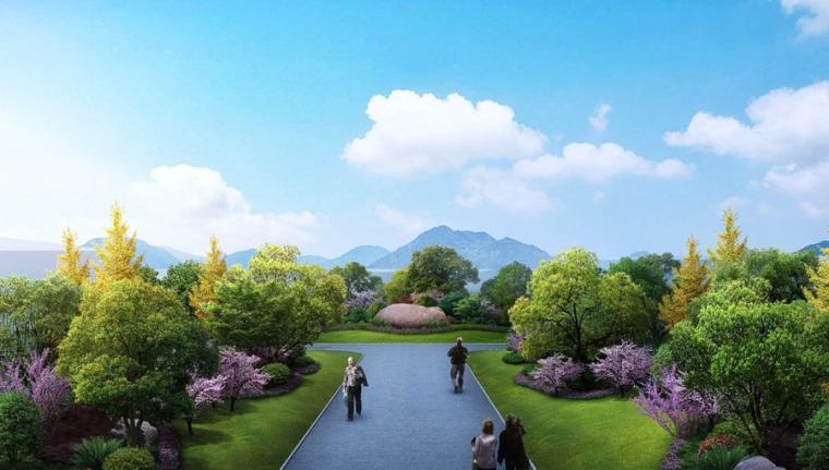 公园园林景观设计案例效果图_16