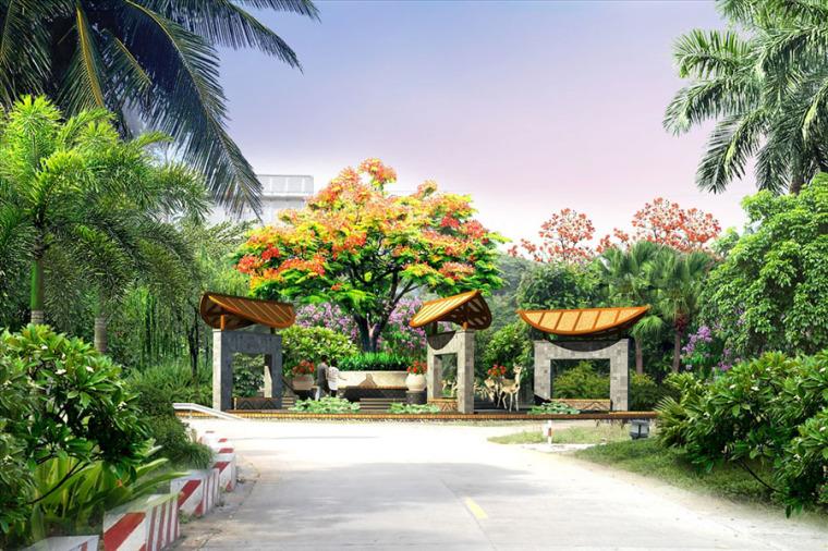 公园园林景观设计案例效果图_14