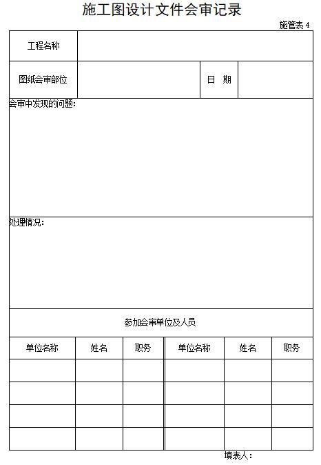[一键下载]25篇路桥隧市政竣工验收表格!_6