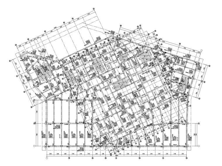 26层剪力墙结构大型住宅结构施工图2020_1