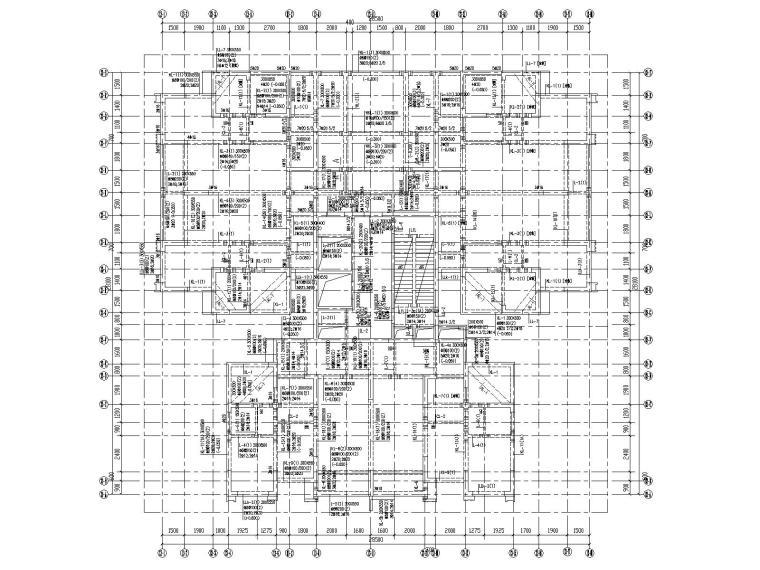 26层剪力墙结构大型住宅结构施工图2020_5