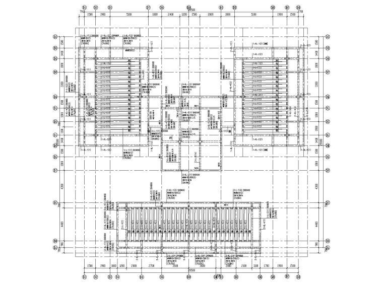 26层剪力墙结构大型住宅结构施工图2020_7