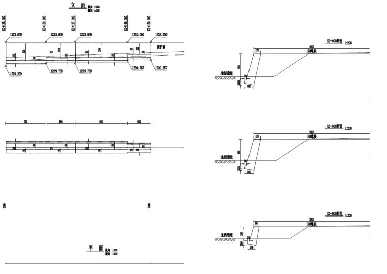 [贵州]土石方及边坡防护施工图设计含招标_3