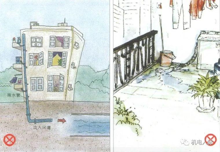 图解不同种类建筑正确的排水方式,可参考!_8
