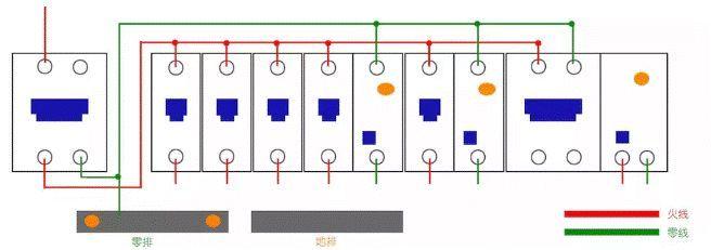 家用配电箱断路器的接法,记得收藏!_8