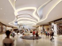 [江苏]水秀天地商业-购物中心PPT室内设计