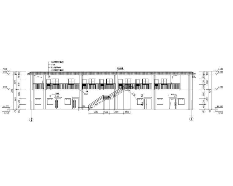 [贵州]加油站装修工程建筑施工图2019_7