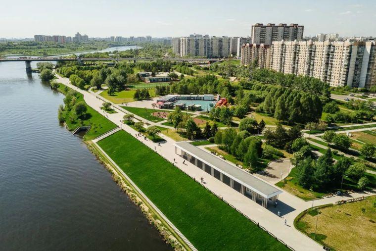 绿色莫斯科,首都新公园_4