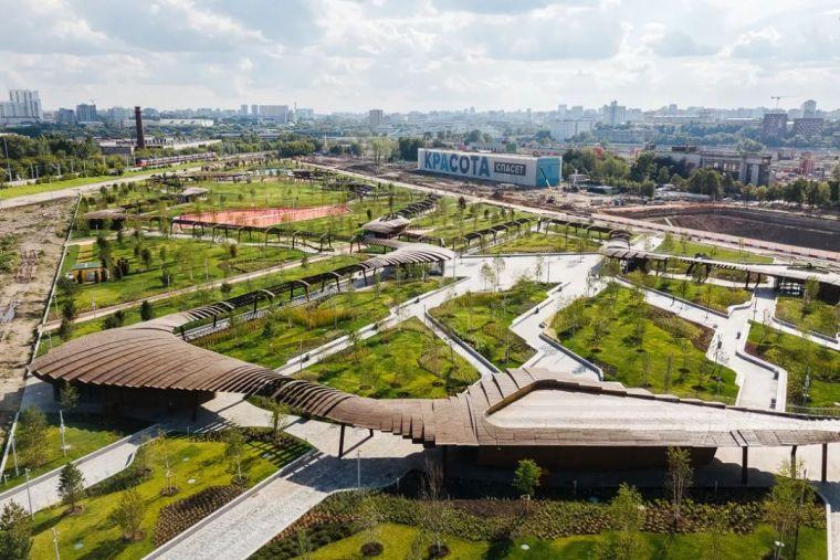 绿色莫斯科,首都新公园_5