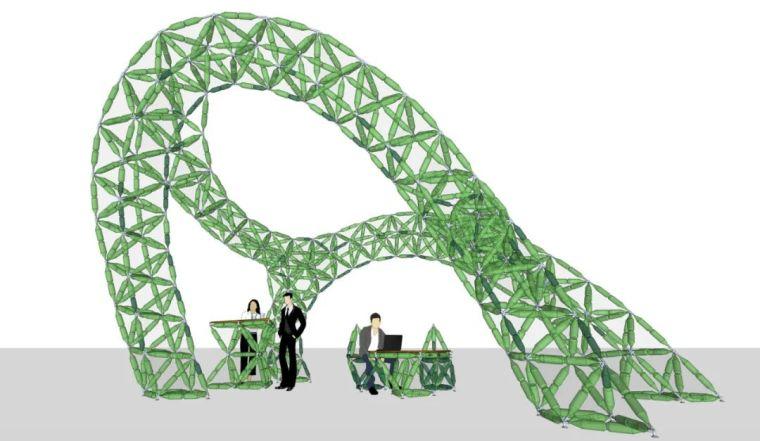 桁架与网架的参数化设计,超多实例!_32