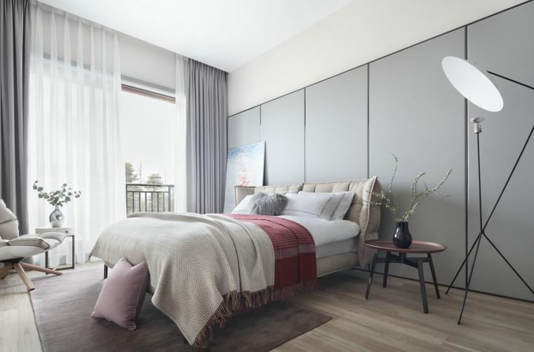 [四川]现代简约风格二层别墅室内3D模型_1