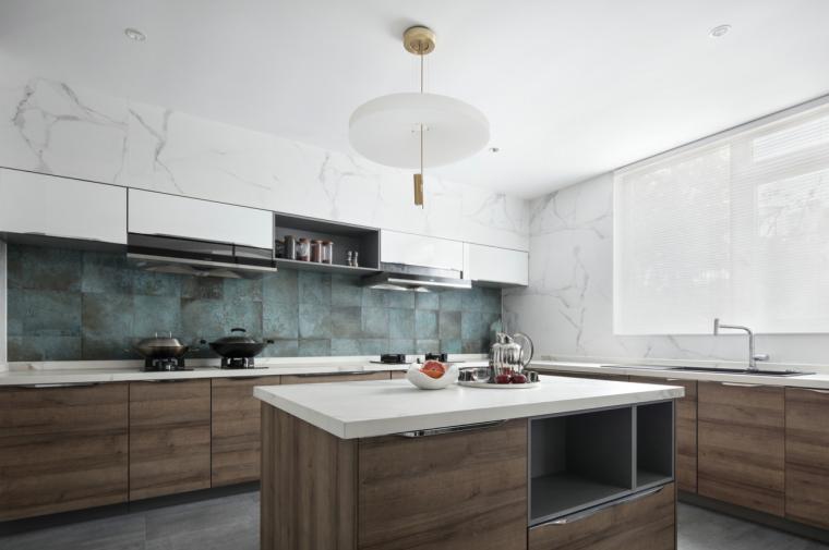 [四川]现代简约风格二层别墅室内3D模型_9