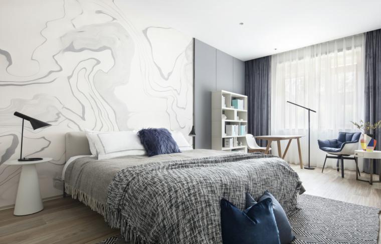 [四川]现代简约风格二层别墅室内3D模型_7