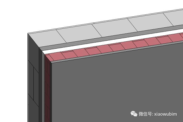 Revit中墙面分层展示的创建_2