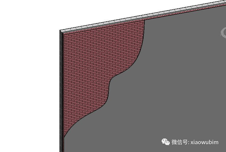 Revit中墙面分层展示的创建_11