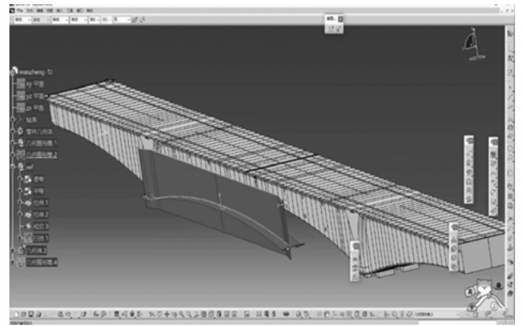 大跨高铁连续梁钢桁组合桥施工BIM应用_5