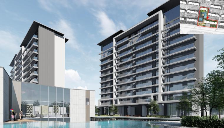 [浙江]新中式风112亩高层+多层住宅建筑方案_9