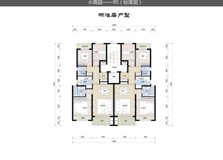 [浙江]新中式风112亩高层+多层住宅建筑方案_16