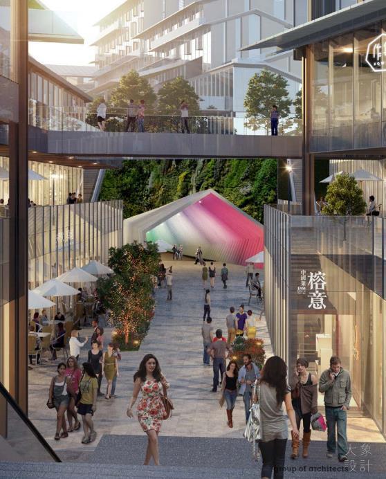 [重庆]中式低密商业街建筑设计文本PDF2019_8