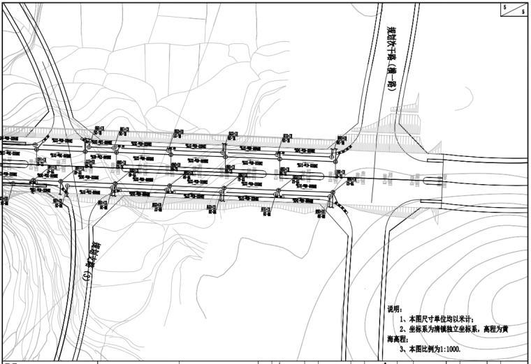 某双向六车道道路管综及给排水施工图2020_3