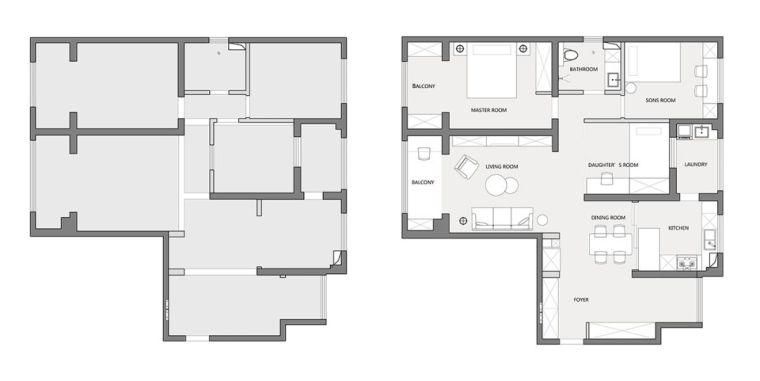 """收纳墙与三大""""空间折叠"""",更加舒适_27"""