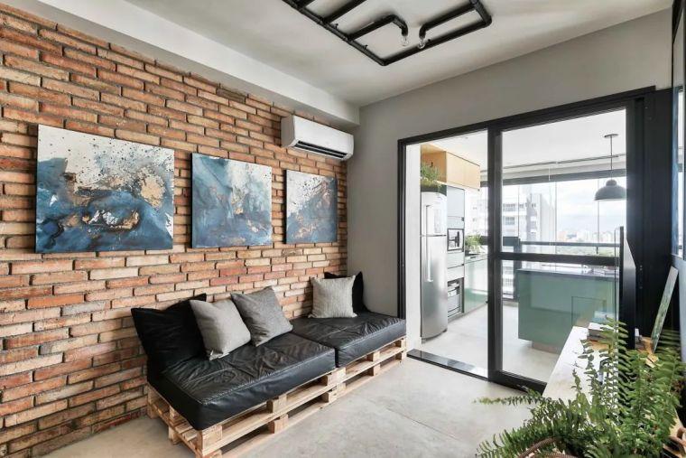 49平米小户型单身公寓,简净冷冽的氛围_2