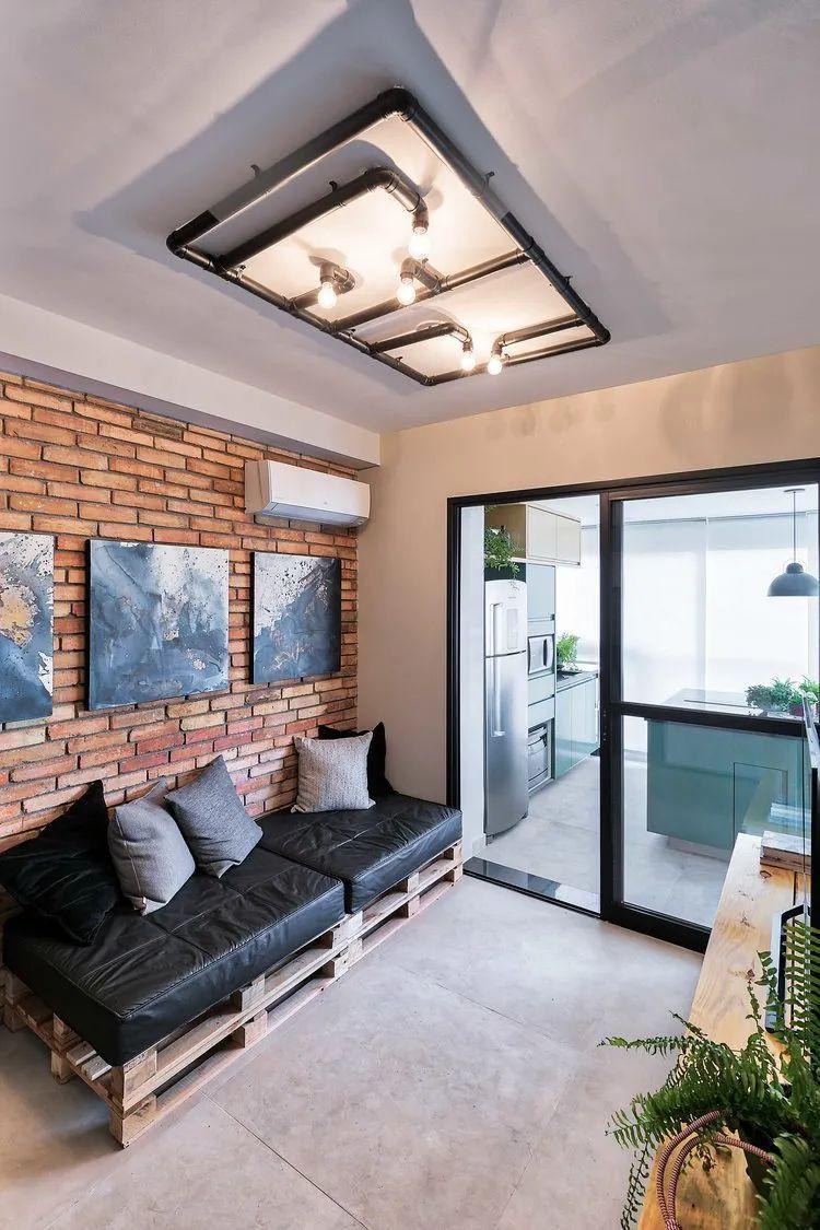 49平米小户型单身公寓,简净冷冽的氛围_4