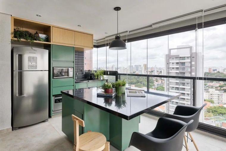 49平米小户型单身公寓,简净冷冽的氛围_5
