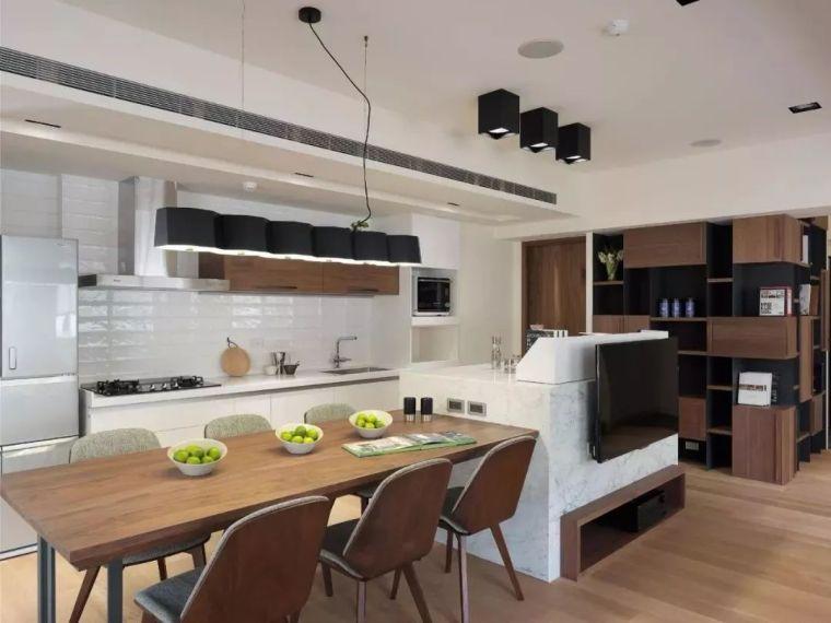 开放式厨房,可以怎么设计?_19